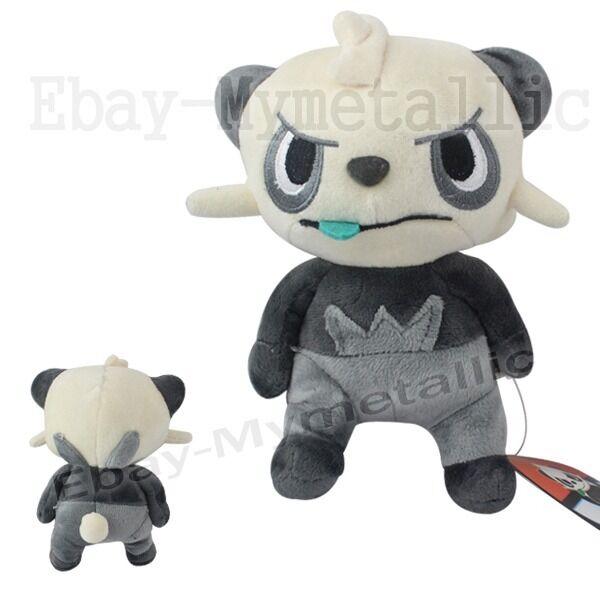 "Pokemon XY Pancham 19cm / 7.5"" Soft Plush Stuffed Doll Toy #674"