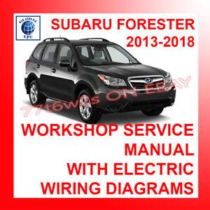 [CSDW_4250]   2013-2018 Subaru Forester мастерская сервис ремонт ручные и электрические  схемы | eBay | 2013 Forester Wiring Diagram |  | eBay