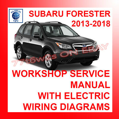 2009 subaru forester wiring diagram 2013 2018 subaru forester workshop service repair manual   wiring  2013 2018 subaru forester workshop