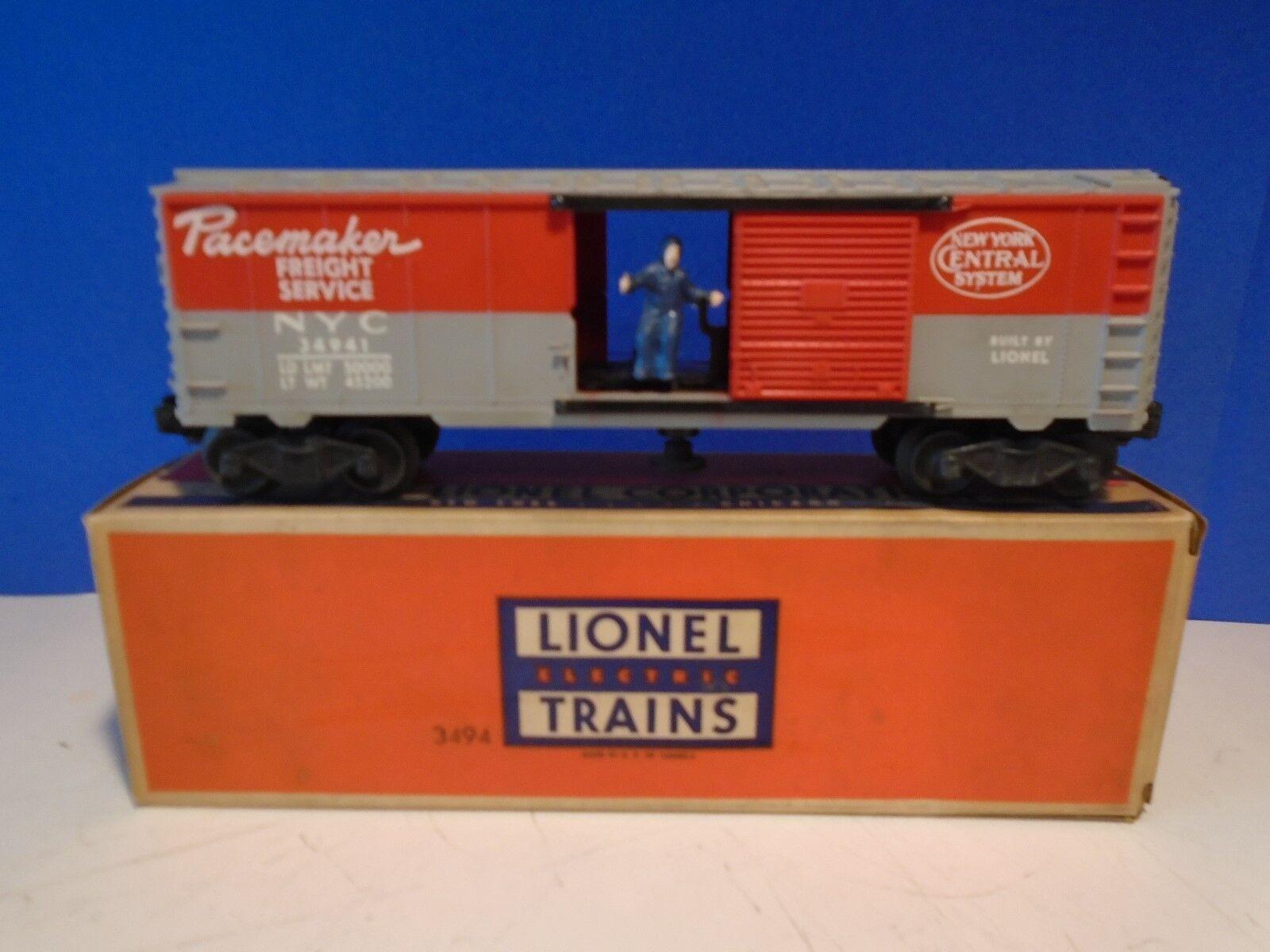Lionel del dopo guerra 34941 NYC pacerenderer operativo scatola auto con scatola originale