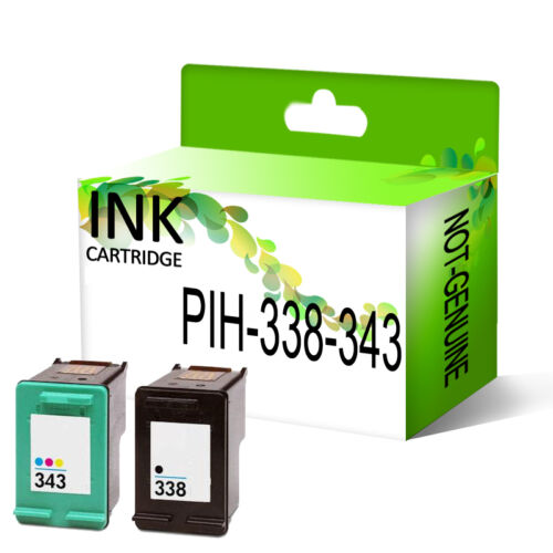 Remanufactured Generic Ink Cartridge Replace For 338 /& 343