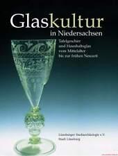 Fachbuch Glaskultur in Niedersachsen 4. - 18. JH VIELE BILDER NEU Tolles Buch