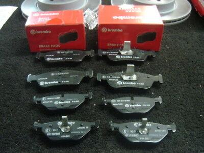 BMW 316 318 318D 320 320D 323 E46 BRAKE DISCS BREMBO BRAKE PAD FRONT REAR