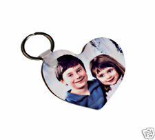 PORTE CLÉ COEUR PERSONNALISABLE PHOTO Saint Valentin