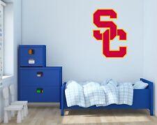 USC Trojans NCAA Football Wall Decal Vinyl Sticker For Room Home Car
