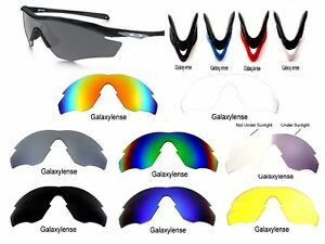 8bbce43a8c Image is loading Galaxy-Replacement-Lenses-For-Oakley-M2-Frame-Sunglasses-