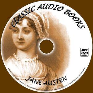 JANE-AUSTEN-ENGLISH-CLASSIC-NOVELS-10-AUDIO-BOOKS-NEW-MP3-PC-DVD-MANSFIELD-PARK