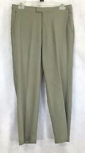 Tommy-Bahama-Womens-100-Silk-Khaki-color-Pants-Sz-8
