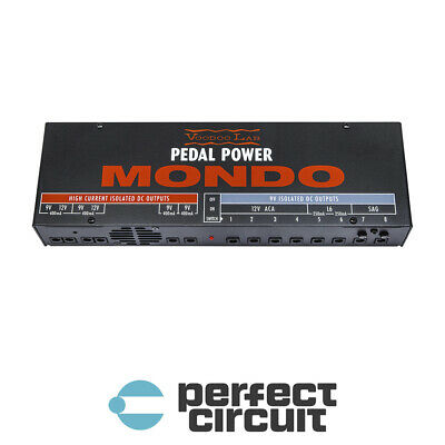 NEW Voodoo Lab MONDO 12 output POWER SUPPLY PERFECT CIRCUIT