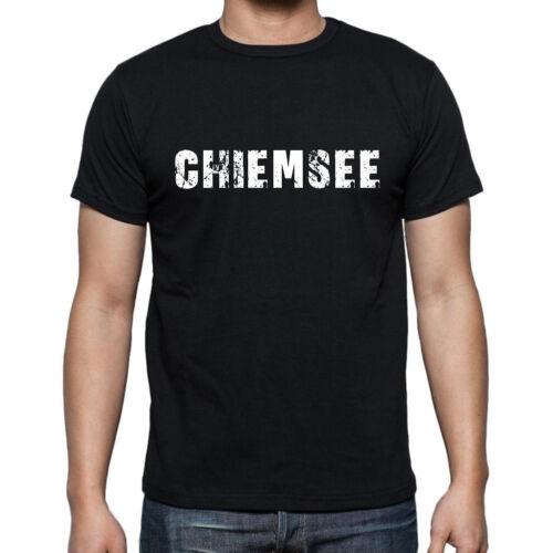 Herren Tshirt Schwarz Cadeau Hommes Tshirt Noir Chiemsee Tshirt