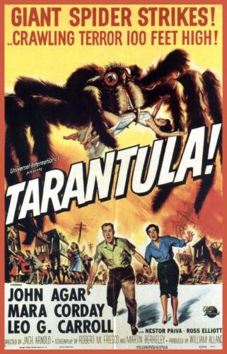 Men/'s Ladies T SHIRT classic 50s movie TARANTULA horror spider vintage creepy