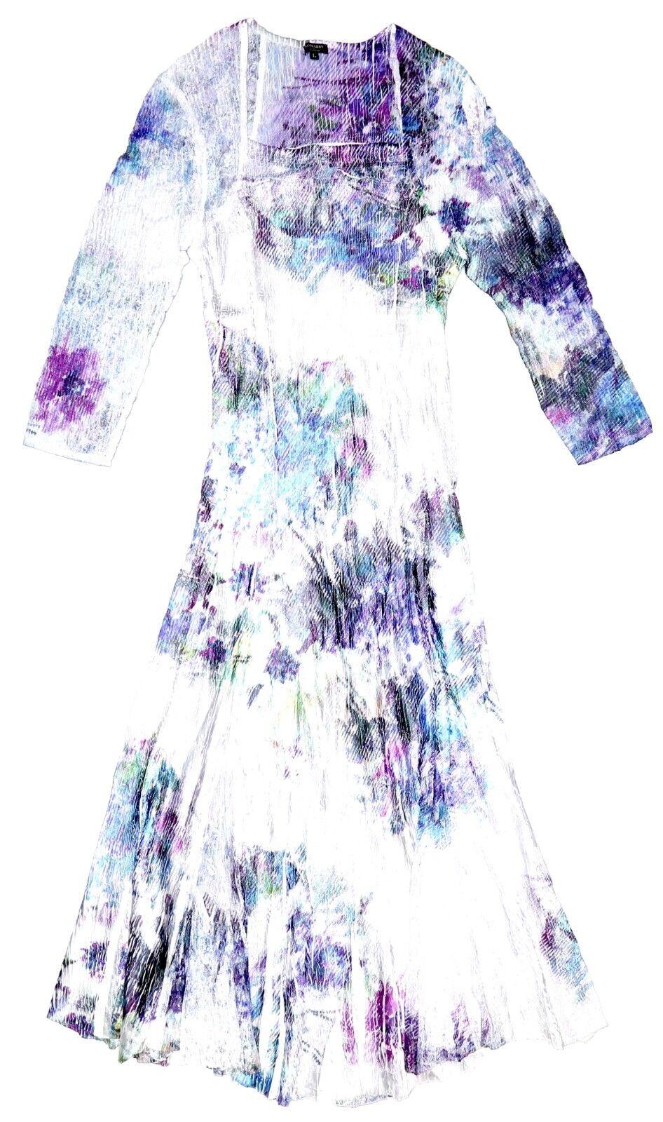 Komarov Para Mujer Púrpura Multi una línea vestido  SZ L 4313  Con 100% de calidad y servicio de% 100.