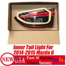 Tail Light For 2014 2015 Mazda 6 Passenger Side Inner Side Fits Mazda 6