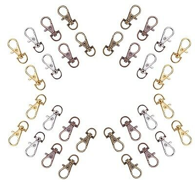 37mm Swivel Lobster Clasps Trigger Clips Bag Key Purse Ring Snap Hook Keychain