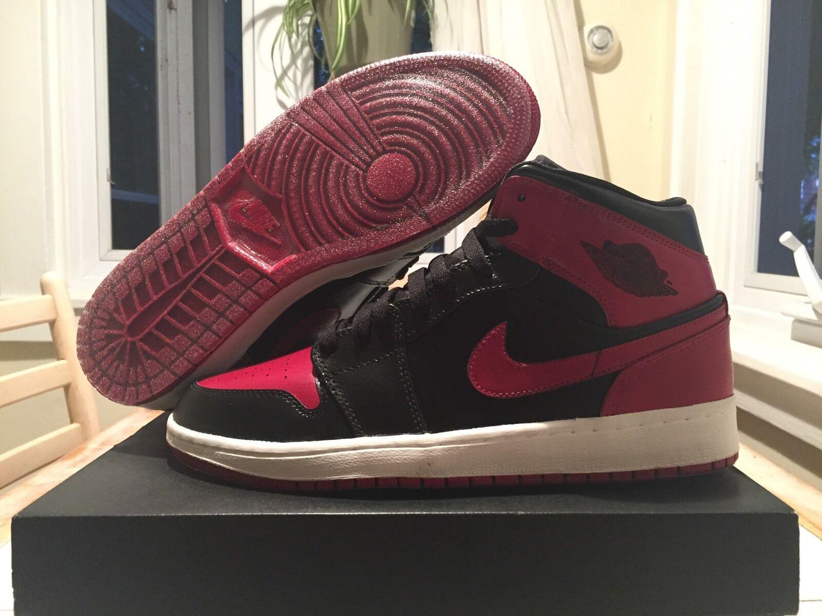 Nike Air Jordan 1 Bred CUSTOM