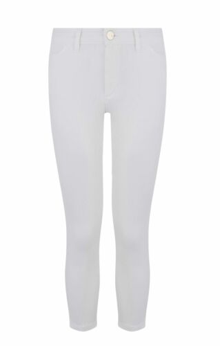 ex Oasis Womens Crop Skinny /'Grace/' Jeans in White or Navy Size 6-18 Were £38