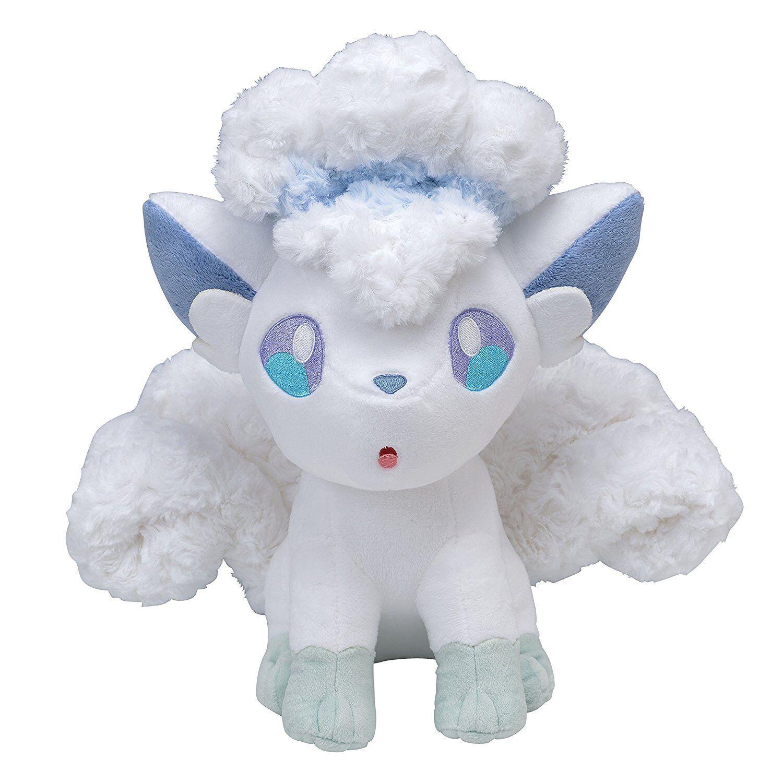 Pokemon Center Original Limitiert Plüsch Puppe Fluffy Alola Vulpix Japan