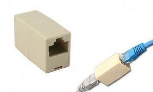 2xNEW-RJ45-CAT-5e-Netzwerk-Kabel-Direkt-Ethernet-LAN-Kupplung-Verbindung
