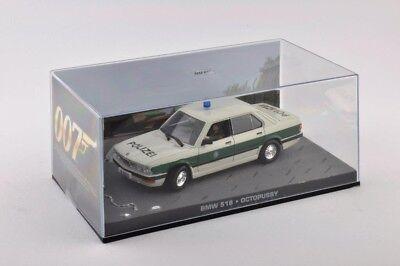 BMW 518 Police JAMES BOND 007 Octopussy 1:43 IXO DIECAST MODEL CAR DY066