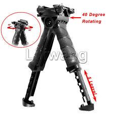 Swivel Foldable Bipod Military Foregrip 20mm Picatinny Rail For Rifle Black New