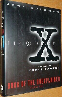 Symbol Der Marke X-files Book Of The Unexplained Vol. 1, By Jane Goldman, Hc Mit Su
