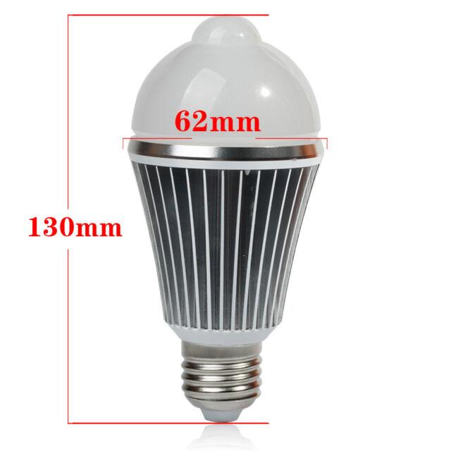 LED Motion Control PIR Sensor lights 7W/9W Auto-sensing Corridor light Lamp Bulb