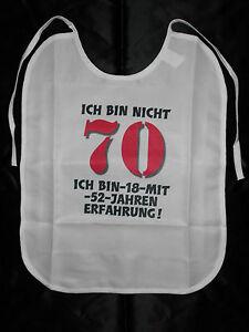 70 Geburtstag Latzchen Fur Erwachsene Witzige Geschenke Geburtstag