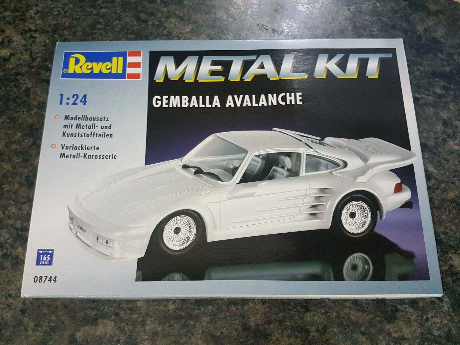 Revell Metal Kit 1 24 Gemballa Avalanche Sports Car Great Condition Very Rare