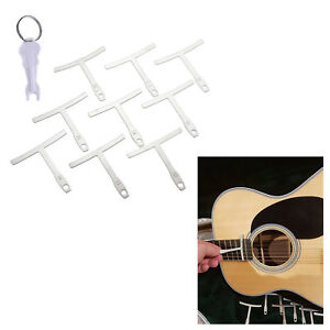 9x Understring Radius Gauge For Guitar And Bass With One Pin Puller
