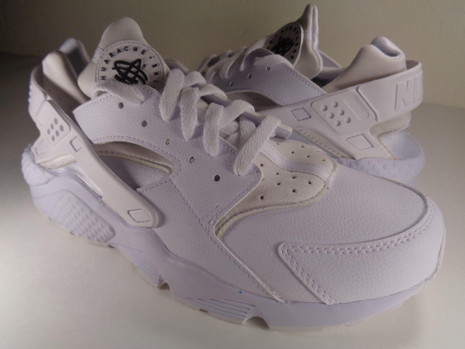 femmes Nike Air Huarache Run iD blanc Beige Noir SZ 10.5 (777331-903)