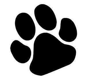 Vinilo De Corte Pegatina Huella De Perro Mascota Sticker Decal
