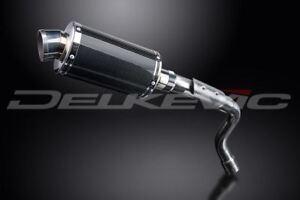 """Delkevic 9"""" Carbon Fiber Slip On Muffler - Honda CB600F 2003-2007 Exhaust"""