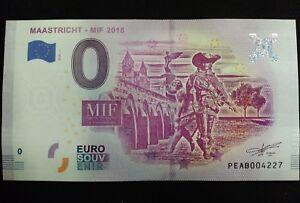 Billet 0 Euro Souvenir Maastricht Mif 2018 328jttpo-07234314-194826618