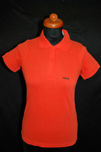 B-amp-C-for-Women-NEU-Gr-XL-Polo-Shirt-GOLF-Snake-Print-Top-Orange-59-D-1985