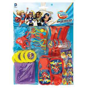 SUPER-HERO-GIRLS-BIRTHDAY-VALUE-LOOT-BAG-FAVOUR-PARTY-SUPPLIES-PACK-48-PIECES