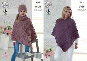 Poncho knitting patterns free uk dating