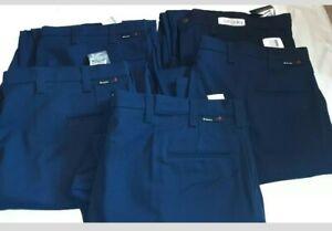 Lote De 5 Para Hombre Workrite Fr Resistente Al Fuego Azul Marino Noche Trabajo Pantalones Llama 50x33 Ebay