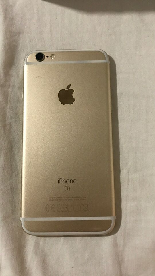 iPhone 6S, 128 GB, guld