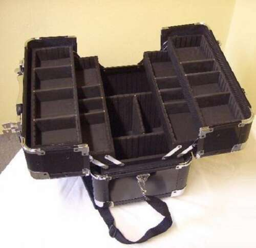 Univeral Fächercase AM-1 38x24x31 cm Trageriemen Alukoffer Werkzeugkoffer Koffer