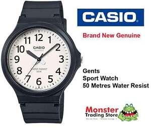 CASIO-SPORTS-WATCH-WATER-RESISTANT-MW-240-7BVD-12-MONTH-WARRANTY