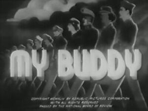 My Buddy 1944 Dvd Don Red Barry Ruth Terry Ebay