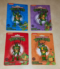 TMNT -  Teenage Mutant Ninja Turtles Keychains LOT of 4 - Nickelodeon NEW
