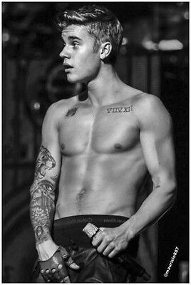 JUSTIN BIEBER A3 POSTER PRINT ARTS - BUY 2 GET 1 FREE!!