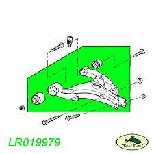 landrover discovery 3 rear suspension arm lower complete LR019979 genuine RH