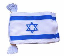 ISRAEL 3 METRE BUNTING 10 FLAGS flag 3M ISRAELI IDF