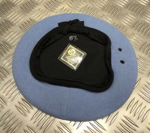 Genuine Military Issue MF United Nations UN LT Blue Colour Wool Beret All Sizes