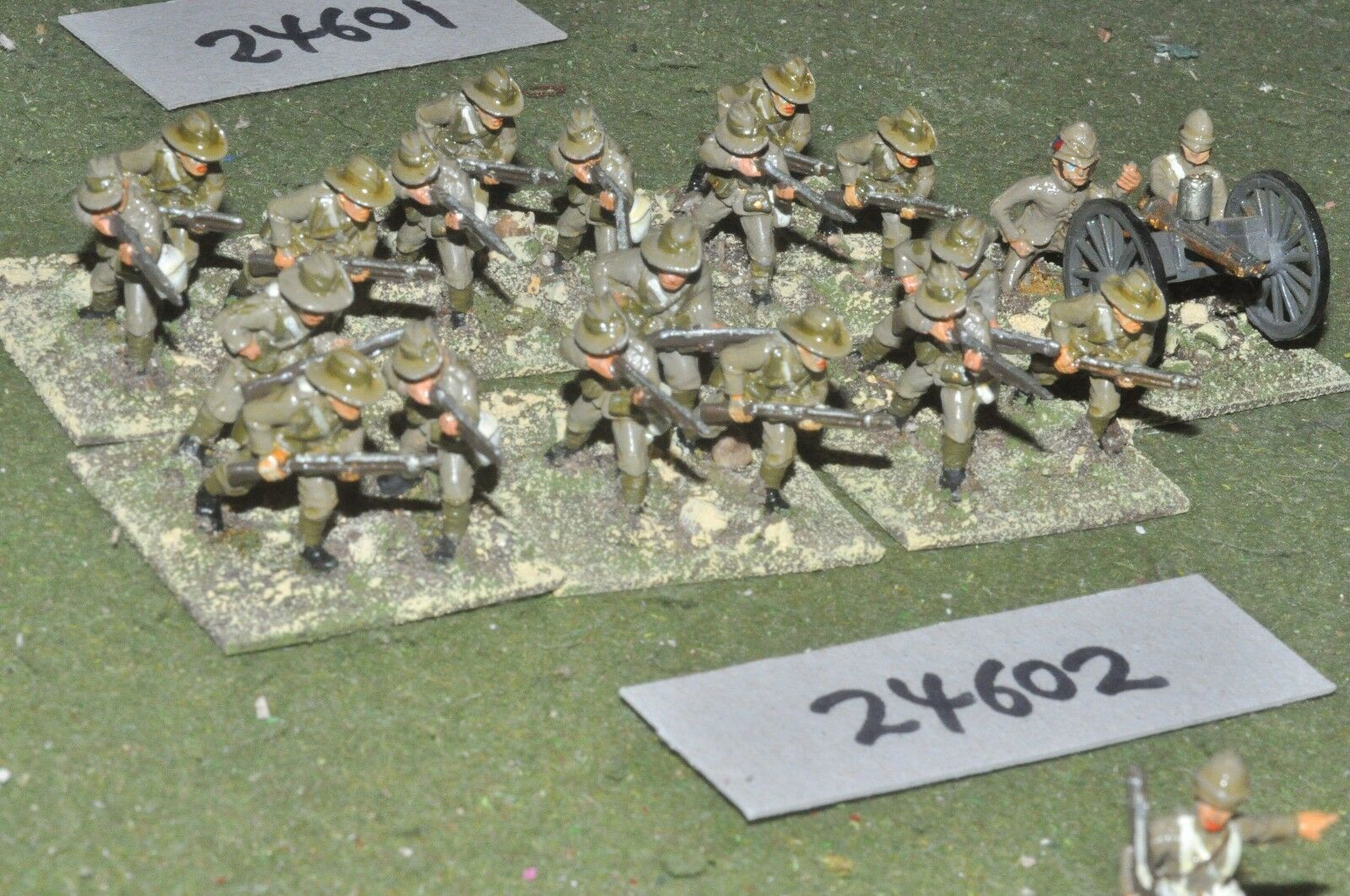 25mm colonial   british - boer war battle group 20 figures - inf (24602)