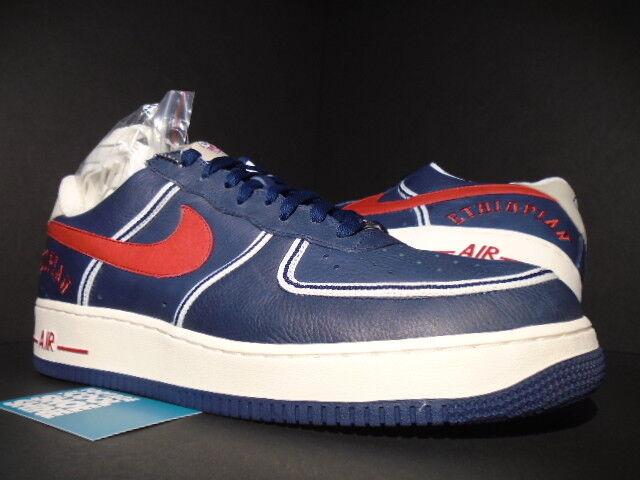2018 Nike Air Force Azul 1 Premium UTT payasos Azul Force Marino Rojo payasos Negro League 14 nuevos zapatos para hombres y mujeres, el limitado tiempo de descuento 0a9909