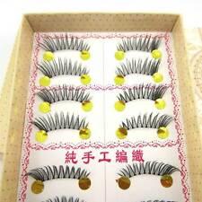 NEW EG18 10 Pairs HALF/MINI/CORNER WINGED beauty False eyelashes SOFT eye lashes