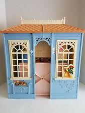 Vintage Electronic Mattel Barbie Doll House Dollhouse # 159 Blue Nice